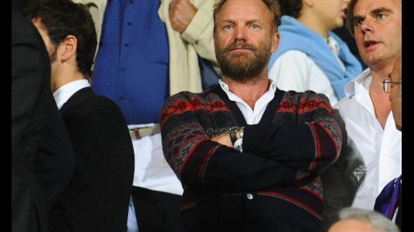 Fiorentina,maglia n.10 in regalo a Sting