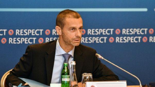UEFA: Ceferin candidat à un deuxième mandat de président