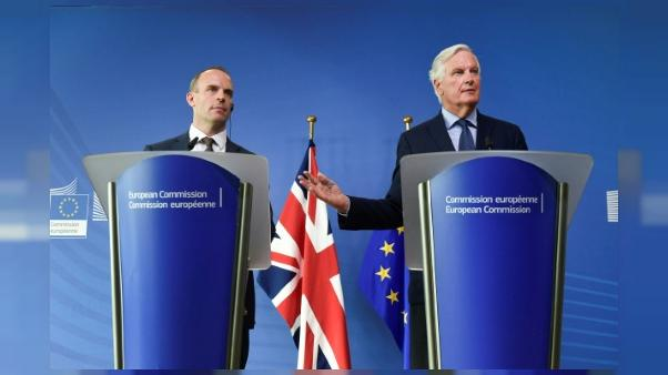 """Brexit: l'UE et le Royaume-Uni s'engagent à négocier """"en continu"""""""