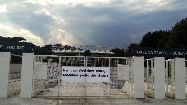 Pap a curva Lazio, 'donne dove vogliono'