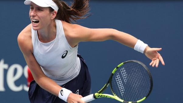 Konta out of final U.S. Open tune-up with viral illness