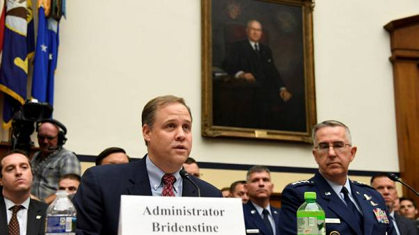 NASA chief excited about prospects for exploiting water on the moon