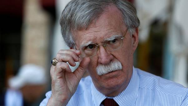 Sanctions on Iran having effect, but regime change is not U.S. policy - Bolton