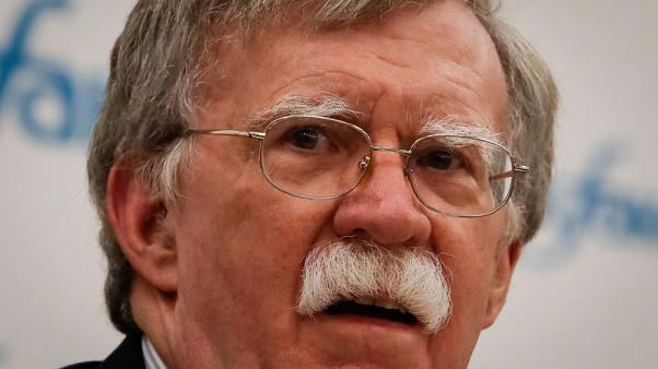 U.S. not discussing recognition of Israel's Golan hold - Bolton