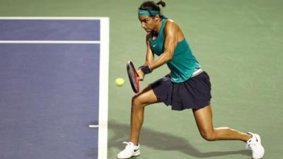 Tennis: Garcia se sort du piège Sasnovich à New Haven