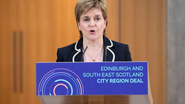 Scotland's Sturgeon says Brexit endangers economy