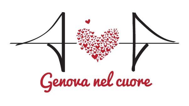 Serie A con maglia 'Genova nel cuore'
