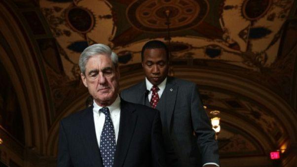 Le procureur spécial Robert Mueller, le 21 juin 2017 à Washington