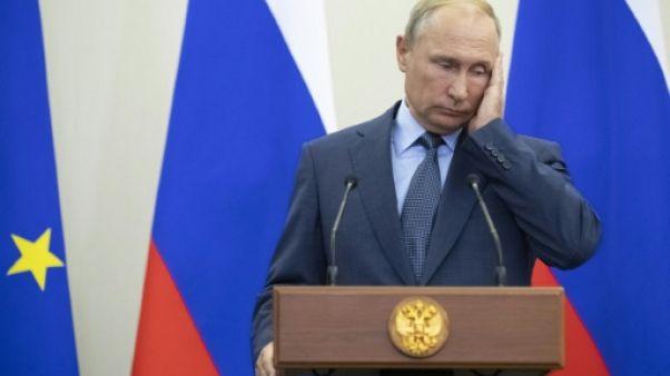 """Poutine fustige les sanctions américaines """"contre-productives"""""""
