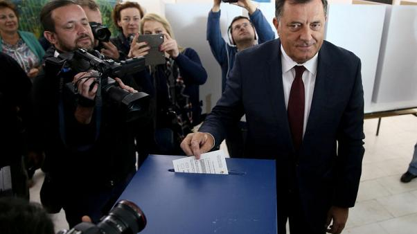Bosnian Serb leader accuses U.S. of meddling in elections, embassy denies charge