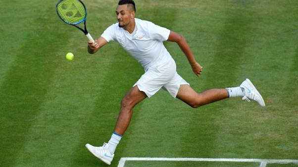 Tennis - Kyrgios brings talent to another level, says Evert