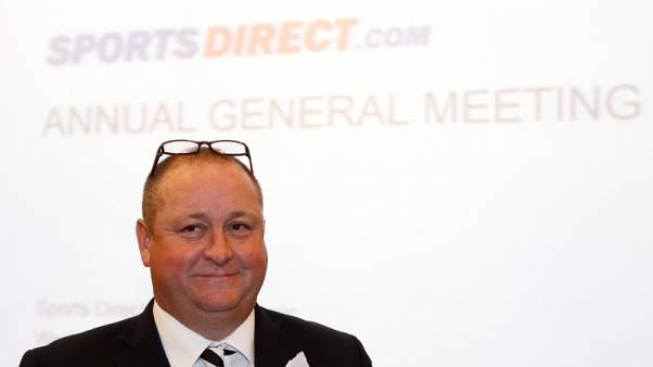 Proxy adviser recommends Sports Direct shareholders vote against directors