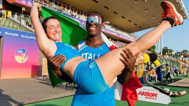 Europei paralimpici,oro Tapia e Caironi