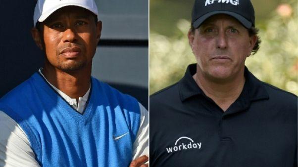 Golf: un duel Woods/Mickelson pour 9 M de dollars à Las Vegas