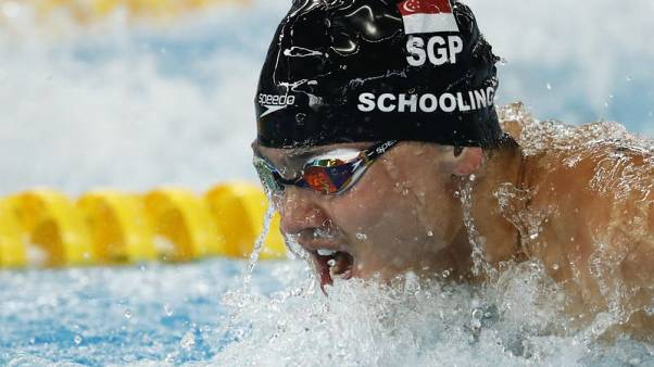 Olympic champ Schooling moving in 'right direction' for 2020