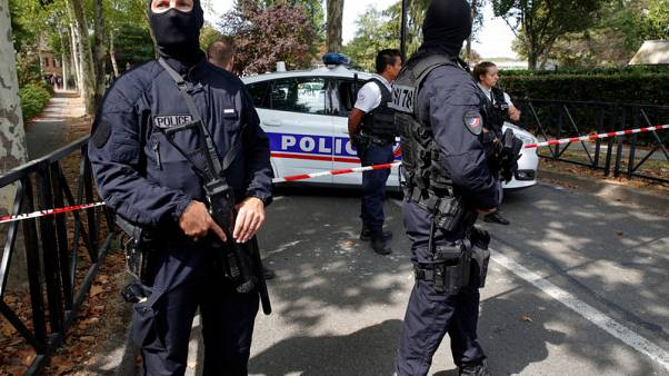 Knifeman kills mother, sister in Paris suburb attack