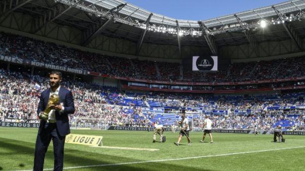 Ligue 1: Fekir et Lopes, du tonus pour Lyon