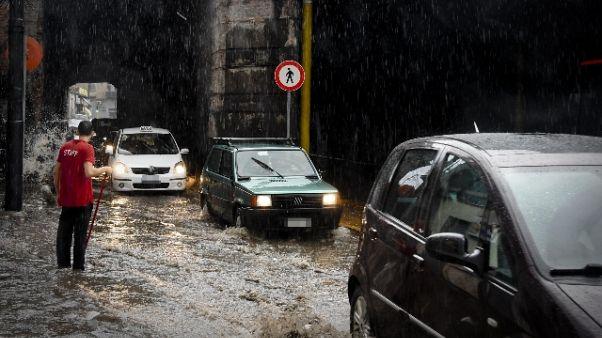 Maltempo: scatta neo allerta in Campania