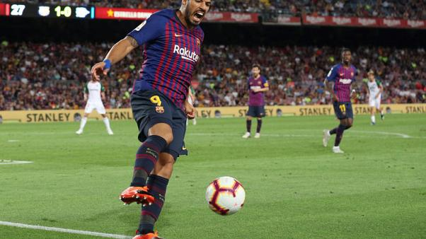 Suarez struggles a worry for Barca ahead of Valladolid visit
