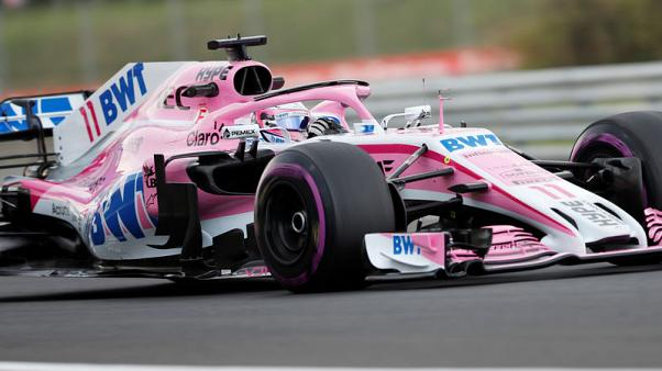 Motor racing - Force India preparing for Belgian GP amid uncertainty