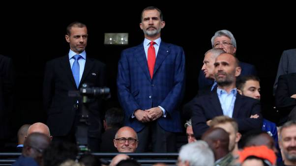Soccer - UEFA president confident of Nations League boost