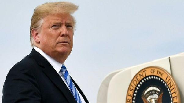 Nouvelle charge de Trump contre son ministre de la Justice, qui se rebiffe