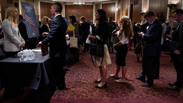 Drop in U.S. jobless claims points to labour market strength