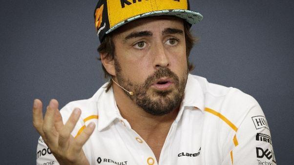 F1: Alonso, non mi emoziono più