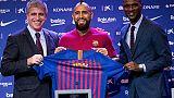 Barça, da Vidal una frecciata al Real