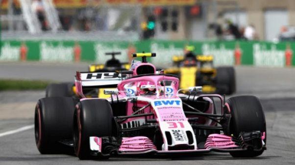 F1: Force India, renommé Racing Point Force India, disputera la fin de saison