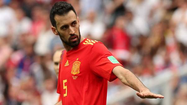 Spanish players united against Liga plans, says Busquets