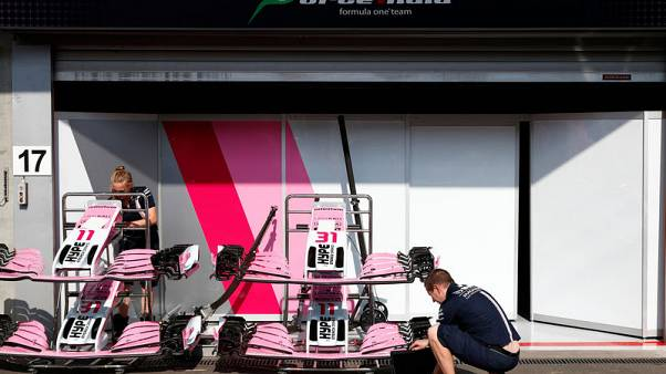 Motor racing - Force India F1 team renamed, stripped of constructors' points