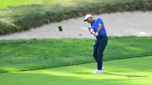 Woods makes mediocre return to FedEx Cup playoffs