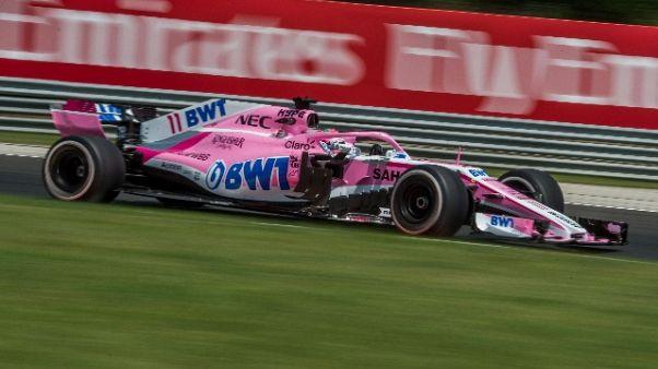 F1: Force India addio, ecco Racing Point