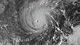 Le puissant ouragan Lane, le 22 août 2018, se dirige vers Hawaï