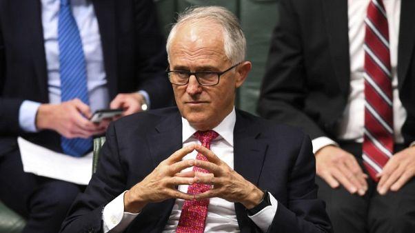 رئيس وزراء استراليا يقول إنه تلقى مذكرة لعقد اجتماع بشأن زعامة الحزب الحاكم