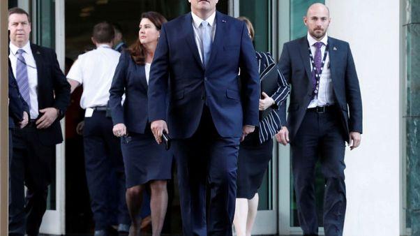 وزير الخزانة الأسترالي موريسون يفوز بزعامة حزب الأحرار الحاكم ليصبح رئيسا للوزراء