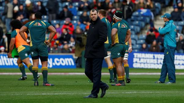 Cheika focused on All Blacks not job security - Hooper