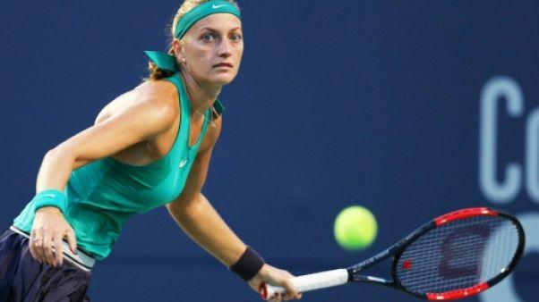 Tennis: alerte pour Kvitova, touchée à une épaule à à New Haven