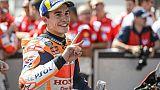 Moto: Marquez sur sa lancée au GP de Grande-Bretagne