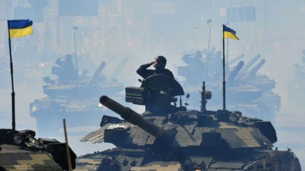 L'Ukraine commémore son indépendance avec une parade militaire sans précédent