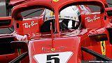 F1:libere1 Belgio,Ferrari Vettel davanti