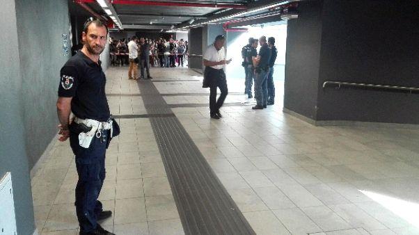 Aggredito dipendente Atm in metro Milano