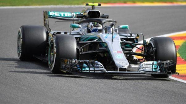 GP de Belgique: Bottas (Mercedes) et Hülkenberg (Renault) partiront du fond de grille