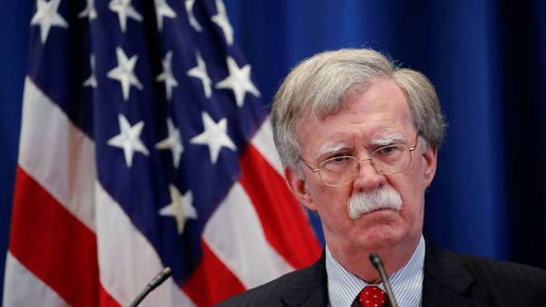 Bolton says U.S. sanctions to stay until Russia changes behaviour