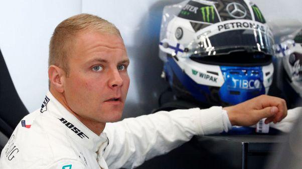 Motor racing - Bottas and Hulkenberg to start from the back in Belgium
