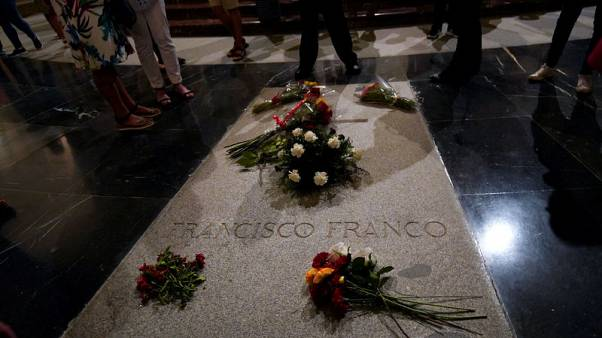 Spain's government passes decree to exhume remains of dictator Franco