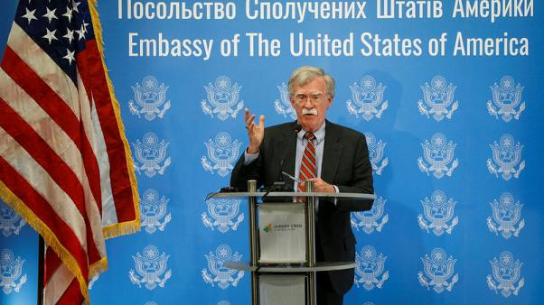 Bolton says U.S. will not get involved in Serbia-Kosovo wrangling