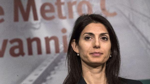 Roma: Raggi, avanti con lavori Metro C