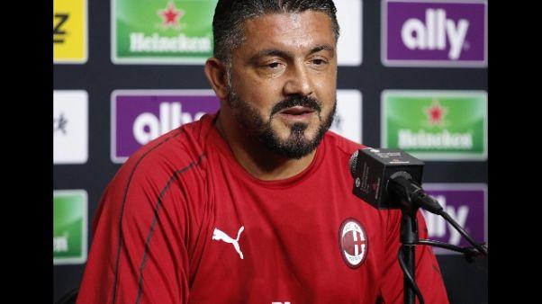 Milan: Gattuso, a Napoli per fare punti